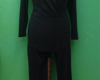 80s Jumpsuit | Vintage suit | Original suit 80s | Stretching suit | Black jumpsuit