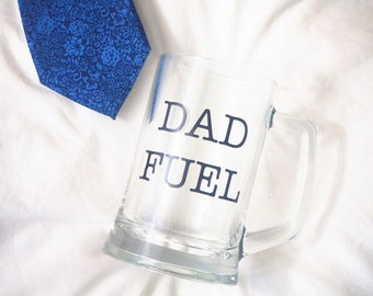 Dad Fuel | Beer Glass