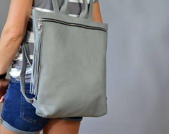 Macbook backpack, Laptop bag leather,  Backpack,  Leather backpack.  Leather rucksack,  Ladies backpack, Laptop Leather Rucksack, Laptop bag