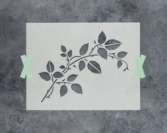 Vine Stencil - Reusable DIY Craft Stencils of a Vine