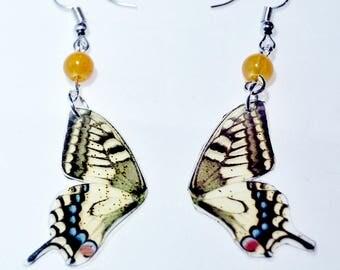 Resin butterfly wings