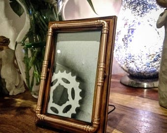 Retro Industrial Themed Steampunk Picture Frame - 6x4