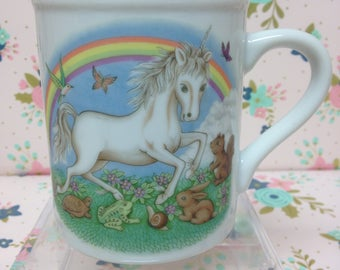 Vintage Unicorn Coffee Mug