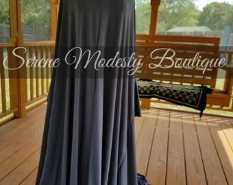 Islamic Free Size Full Length Overhead Khimar Prayer Dress