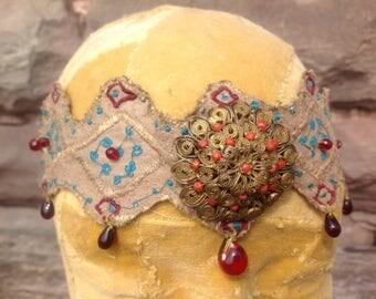 Ethnic looking headband/ tiara