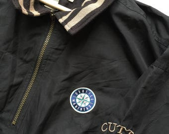 Vintage Cutter & Buck Seattle Mariners 1/4 zip jacket  / XXL size