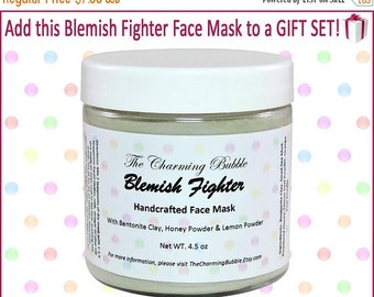 Easter Sale 20 OFF Face Mask for Acne, Acne Treatment, Bentonite Clay Mask, Clay Mask, Face Mask, Facial Mask, Dead Sea Mud Mask, Mud Mask,