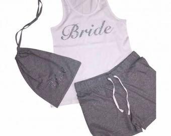 Bride  pj set