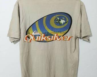 Rare vintage quicksilver t-shirt M size