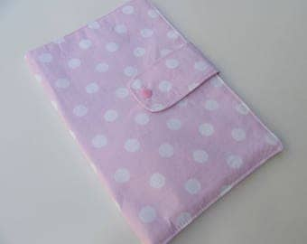 Nappy Wallet - Pale Pink Spots