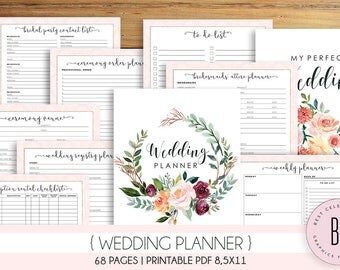 Wedding planning workbook The complete guide to my wedding