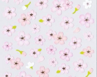 Mind Wave Cherry Blossom Sticker Series - A