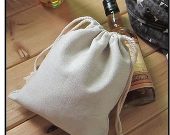 "50pcs/Lot Cotton Linen Gift Bags 9x12cm(3.5""x4.75"")  Wedding Party Favor holders Jewelry"