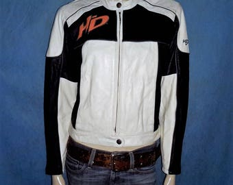 HARLEY DAVIDSON leather jacket size S W or 36/38 super condition