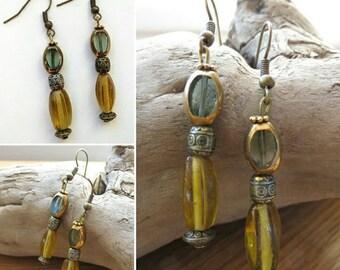 Earring hooks earrings 17554