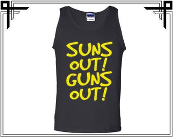 Suns Out Guns Out Men's Tank Suns Out Guns Out Tank Top Guns Tank Top Gym Tank Top Workout Tank Top Gift For Him