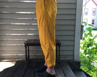 Highwaisted cotton jam pants