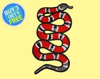 Snake Patch Denim Jacket Patch Iron On Patch
