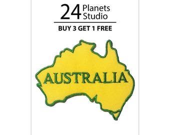 Australia Iron on Patch by 24PlanetsStudio