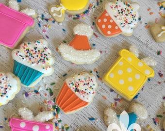 2 Dozen Mini Birthday Cookies