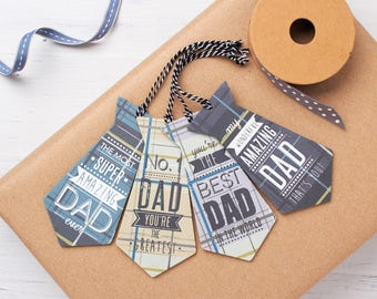 Dad Gift Tag - Father's Day Gift Tag - Gift Tag For Dad