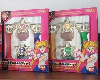Sailor Moon Nail Pendant / Nail Gloss Figure Bandai - Jupiter + Venus VERY RARE