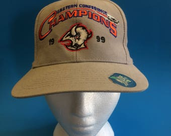 Vintage Buffalo sabres NHL Stanley Cup champions snapback hat 1990s
