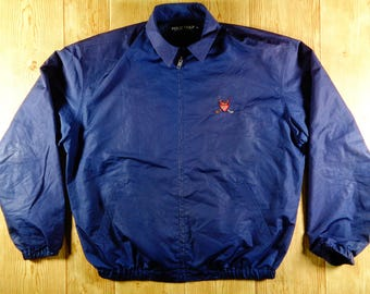 Vintage POLO Harrington Polo Golf 90s By Ralph Lauren Jacket
