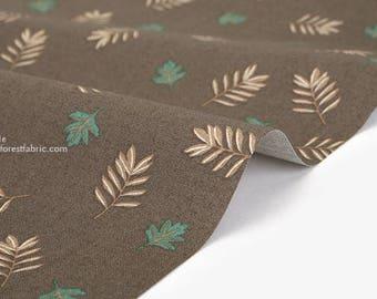 Dailylike (cotton) - Sloth : sloth leaf Fabric- 50cm