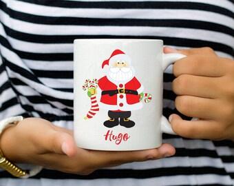 Christmas gift - Mug Christmas - Santa - Santa Claus - Christmas - Christmas - kids Mug - Christmas mug - Mug - Kids Christmas gift - personalized Mug