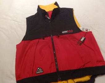 Nwt deadstock L Tommy Hilfiger expedition fleece lined vest-body warmer