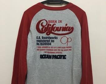 Ocean Pacific Sweatshirt Sweater Jumper Pullover