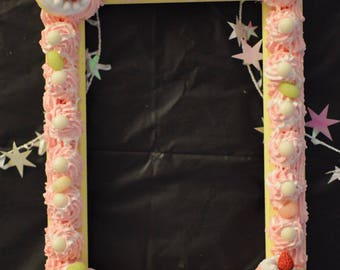"Decoden- Sweets Photo Frame (5""x7"")"