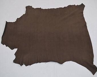 Brown Nubuck Sheepskin Leather (9361253)
