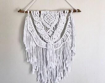 Macrame tapestry   macrame   macrame wall hanging   wall hanging   boho wall decor   boho decor   nursery decor   yarn wall hanging