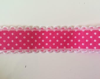Scrapbooking 2.5 mm wide polyester Ribbon