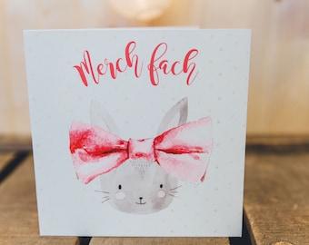 Merch fach | Baby Girl  | Welsh Card | Cymraeg