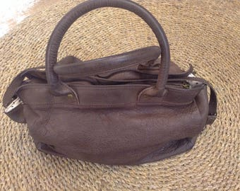 100% Leather Rectangle bag