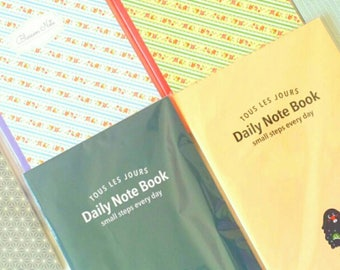 DAILY JOURNAL/NOTEBOOK