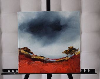 Picture on canvas Oil Paintings Abstraction  Picturesque landscape Very interesting picture