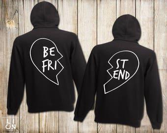 Best Friend Hoodies, Bff shirts, Best Friend Hoodies, Matching Best Friend Hoodies, Unisex, Best Gift