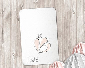 Hello card for your cutest sweet words