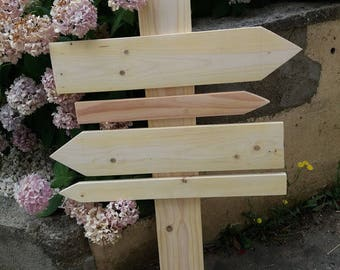 signs blank arrows model 4