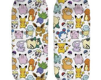 Pokemon Ankle Socks