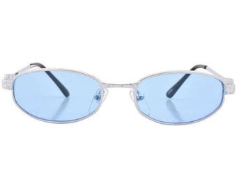 Silver and Blue Vintage Sunnies