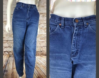 80s 90s Womens Vintage High Waisted Jeans Womens Blue Jeans Mom Jeans LEE jeans size 11 medium High Waist