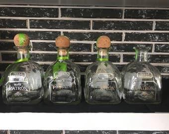 Empty Patron Bottles 4