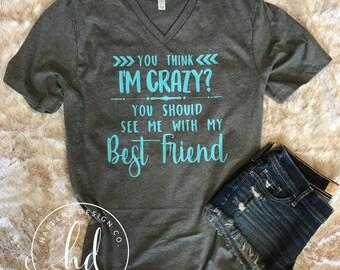 Best friend shirts • Bella Canvas