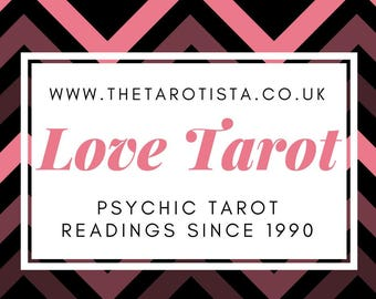 Finding Love Tarot Reading by Psychic Reader of 30 Years Experience