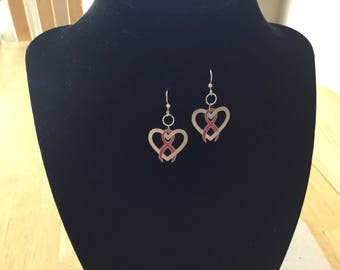 Heart Awareness Earrings.